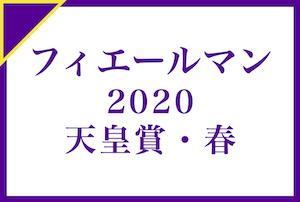 天皇賞(春) 2020年